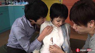 Sakura Aida is a shy and teenage Japanese schoolgirl who