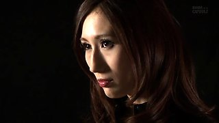 Voluptuous Japanese cutie gets drilled rough and creampied