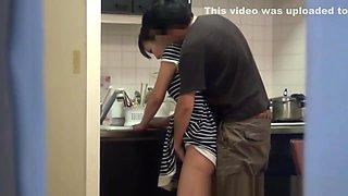 Asian Fucked In Kitchen