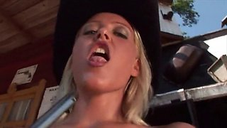 alabama - oiled tease cowgirl western music video