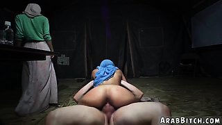 Arab girl fucked by american and virgin Sneaking in the Base