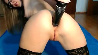 Incredible sexy girl punished her ass 1