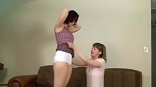 spanking diaper little girl