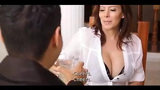 Sexy latin aunt seduces her renter
