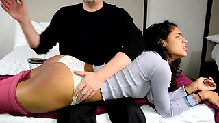 Behavior Unbecoming - (Hot Spanking!)
