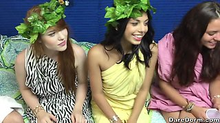 College party with Gwen Stark and her friends turns into an orgy