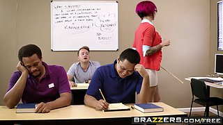 Brazzers - Big Tits at School - Sexy Pictures Worth A Thousand Words scene starring Anna Bell Peaks