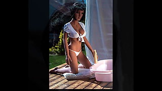 African sexy hooked sex doll