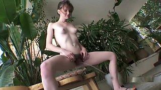 Emma Evins peeing 2