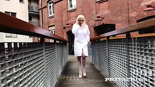 sienna day is a busty blonde nurse addicted to anal