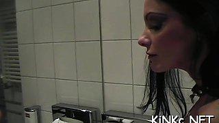 Mistress carmen rivera ties up her villein really hard
