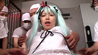 The Doctors Prepare To Operate On Anime Chick