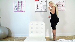 Blondie Fesser in Thick Busty Blonde Cougar - ButtFormation