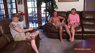 Kinky Mom Takes Care of All Her Boys