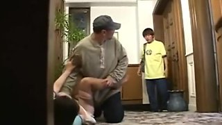Japanese Mother Falls For Her Son