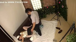 Molesting The Bride in Pre Wedding Photo Studio 2