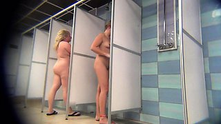 Katie Howard Exposed Naked on Hidden Voyeur Shower Spy Cam