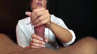 Cumshot Compilation 01 - Handjob by Klixen