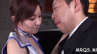 glamour babe takes it hard segment film 1