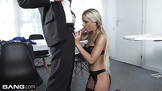 Glamkore Czech Blonde Lola Blond gets nailed doggystyle