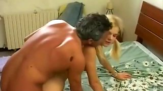 Dad watch and fucks daughter