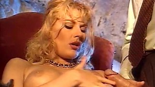 Mesmerizing sultry blonde milf wants a hardcore anal sex