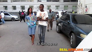 Real African Amateur Teens Wild Public Sex
