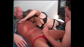 German MMF Bi-Sex Threesome