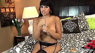 Horny married milf with toys and dildos on webcam show