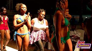 African Booty Girls Bikini Fashion Show