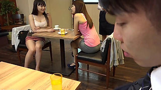 Japanese Short Skirt Cafe 1