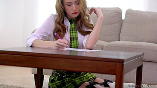 School Girl Spanked - Jessi