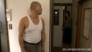 Horny Stud Vs Hairy Japanese Mature