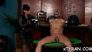 Wicked female-dominant dominates chap