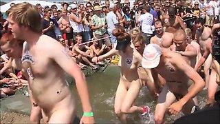 Naked run - vinderen får sex