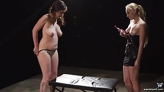 Nasty mistress likes nothing more than punishing a lovely girl