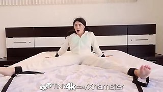 tiny4k petite brunette adria rae tied up fantasy fetish fuck