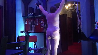 M.C. - Black BBW mistress whipping man