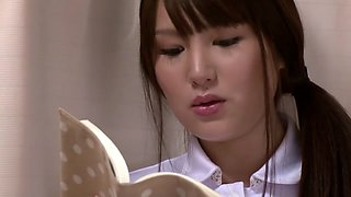 Hottest Japanese whore in Best Nurse JAV clip
