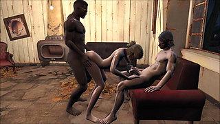 Fallout 4 Katsu an armchair for three