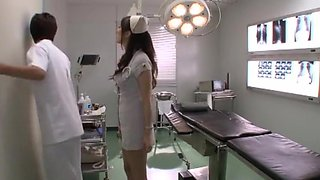 Crazy Japanese model Yuna Shiina in Best Nurse JAV video