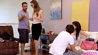 Students Caught By Teacher - Joseline Kelly,Tali Dova