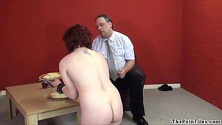 Domestic service maid humiliation and domination of Isabel
