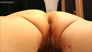 Preparing my pussy for anal defloration anal entjungferung