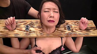 Punishing Sara Yumeka in a sexy way and showing no mercy
