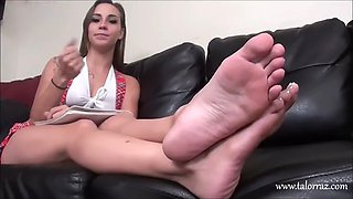 erotic feet - sasha foxxx soles sexy