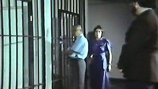 Big black man fucks pale skin hot young prisoner girl in the jail