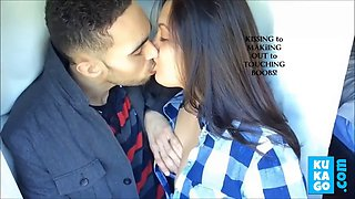passionate kissing