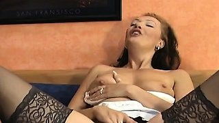 Sexy milfs banged with monster cocks
