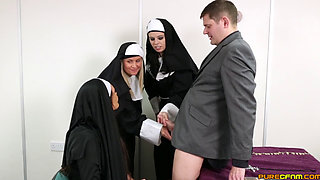 emma leigh blows the priest